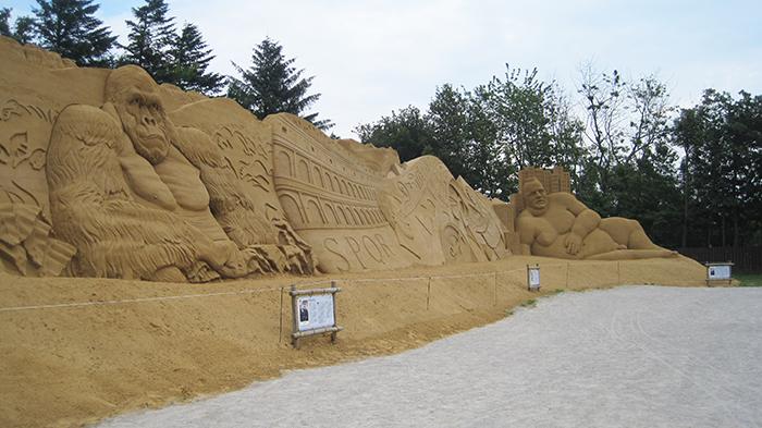 sandmur
