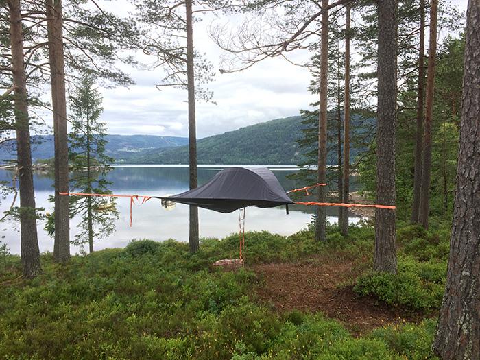 Det her bliver det næste hit: Et svævende telt.